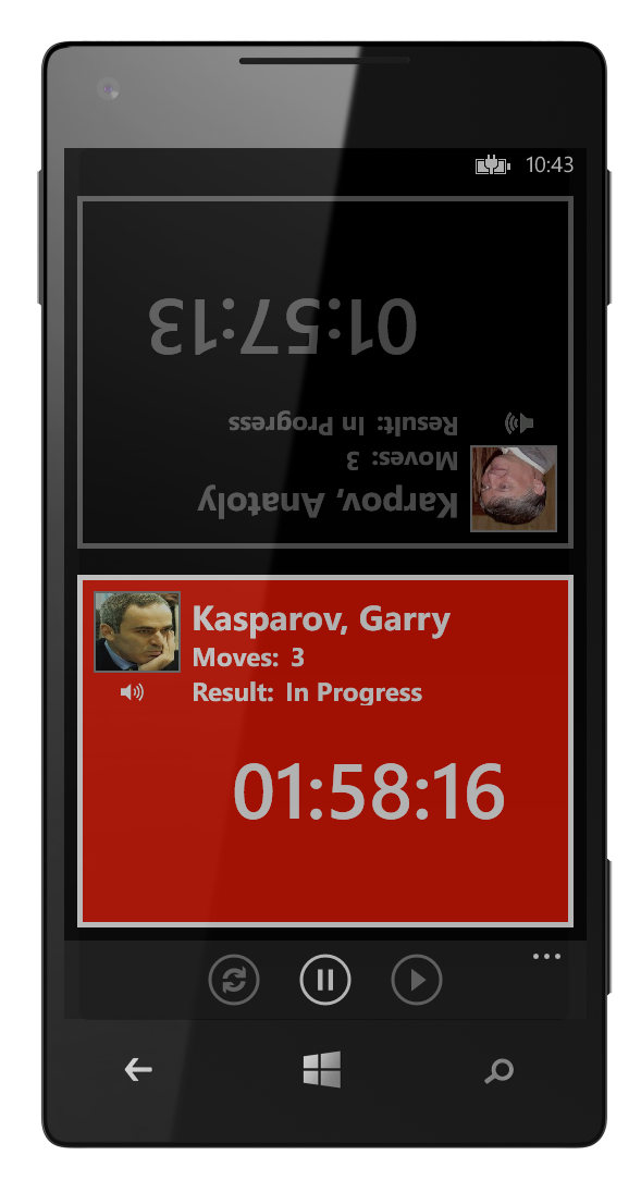 Chess Clock for for Windows® Phone